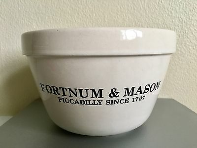 Fortnum & Mason 2 pint Stoneware Pudding Basin / Mixing Bowl - Good Condition!