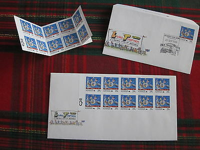 Australia 1988 Living together 39c Tourism Coat of Arms stamps