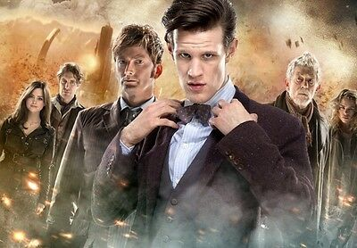 Dr Who - Matt Smith - THE DAY OF THE DOCTOR photograph - glossy A4 print
