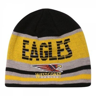 West Coast Eagles Official AFL Youth Supporter Beanie 2016