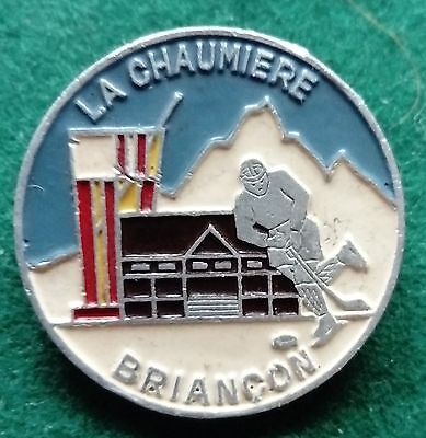 La Chaumiere Briancon France ice hockey pin badge