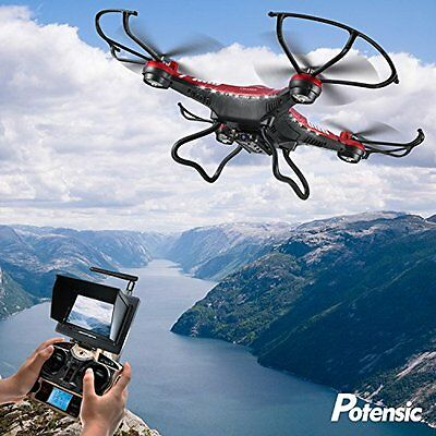 Quadcopter Drone Flight Outdoor Indoor with HD Camera Monitor 3D Flips Function
