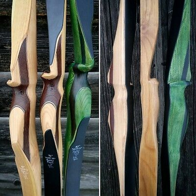 traditional laminated longbow 70'' 44# @28'' american flatbow
