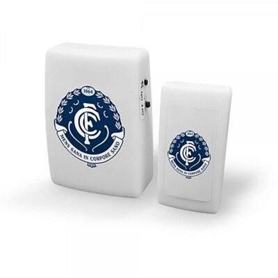 Carlton Blues Official AFL Wireless Musical Door Bell FREE POST