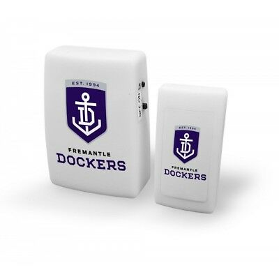 Fremantle Dockers Official AFL Wireless Musical Door Bell FREE POST