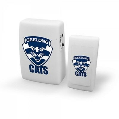 Geelong Cats Official AFL Wireless Musical Door Bell FREE POST