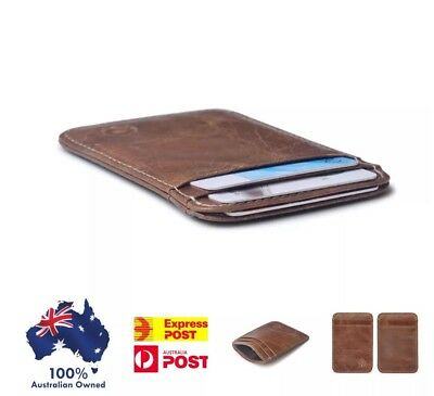 Slim Wallet , card Wallet / Opal Card Holder Free Shipping From Australia