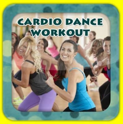 Cardio Dance Workout Dvd Burn Calories Fitness Exercice Weight Loss Streetdance