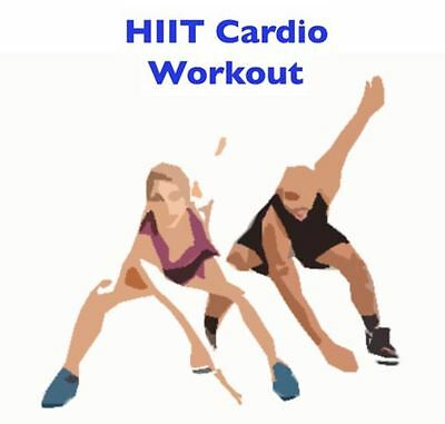 HIIT High Intensity Interval Training Cardio Workout DVD