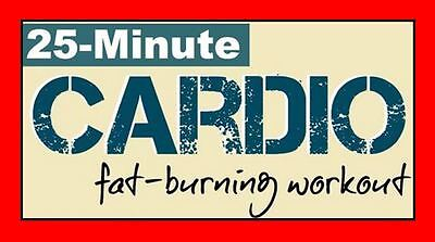 Ultimate Cardio Fat Burning Workout DVD - FITNESS EXERCISE WEIGHT LOSS HIIT