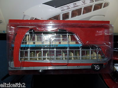 HC09 Ex mag 1/43 Scale Bus Citroen U55 Cityrama Sightseeing Currus France 1955