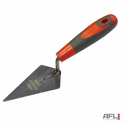 Faithfull London Pattern Brick Mortar Pointing Trowel Soft Grip Handle 125mm/5""