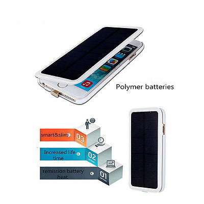 4200mAh Solar Battery Charger Case For iPhone 6 6S Plus External Power Charging