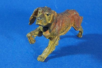 Irish Setter Pointer Vintage Miniature Red Hunting Dog Statue Figurine Antique