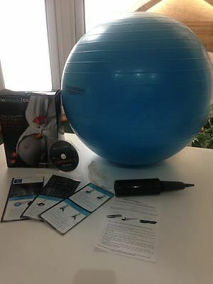 Miracle Box - Complete exercise/birthing ball package includes DVD