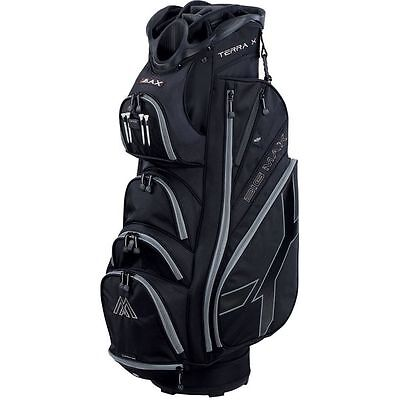 Big Max Terra X Cart Bag In The Black/Silver Brand New