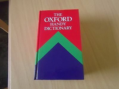 Oxford handy dictionary