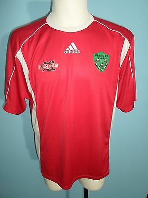 Adidas Valbo FF home shirt jersey trikot football size LARGE Sweden Swedish #497
