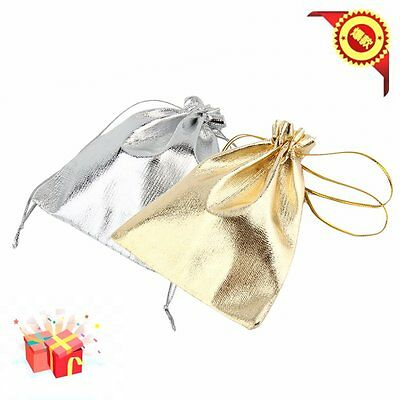 50PCS Organza Wedding Party Favor Candy Bag Jewelry Packing Gift 10/20pcs Hot tr