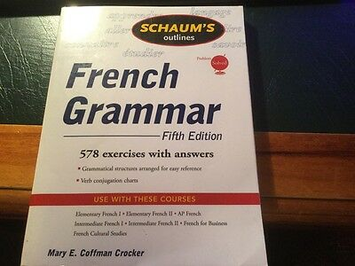 Schaum's Outline of French Grammar by Mary E. Coffman Crocker (Paperback, 2008)