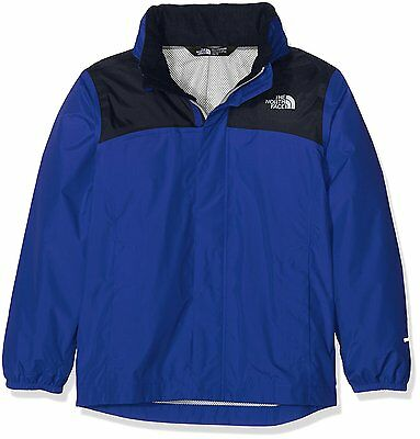 North Face Reflective Resolve Veste Imperméable Garçon, Honor Blue/Cosmic...