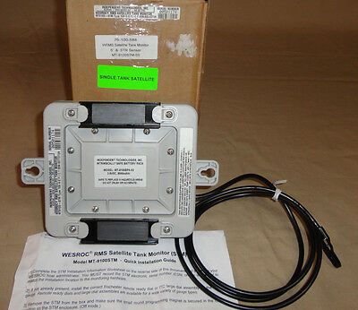 Wesroc Mt9100-Stm Rms Satellite Tank Monitor 109 Independent Technologies New