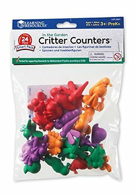 Learning Resources In the Garden Critter Counters Smart Pack LER3663