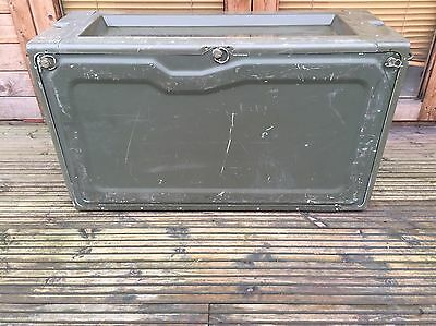 Army box laycorn industrial military Landrover storage genuine