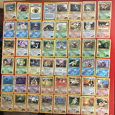 Pokemon Gym Heroes Set EXCELLENT CONDITION (36 Missing)
