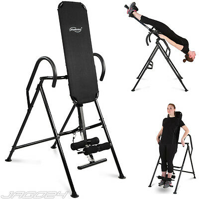 Inversion Table Back Neck Therapy Exercise Swing Bench Hang Pain Relief Home Gym