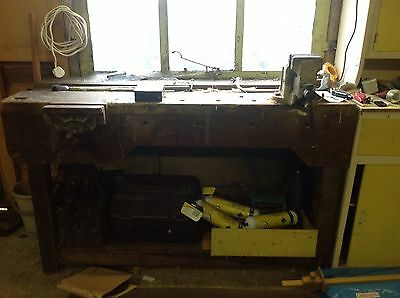 Heavy Duty VinTage Work Bench 1960s
