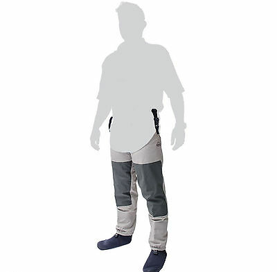 Leeda Volare Stocking Foot Breathable Fly Fishing Thigh Waders - All Sizes