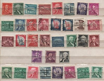 1954-68 Liberty Issued Complete  - ½¢-$5.00 Plus Coils - Used