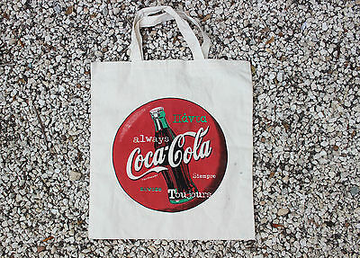 Vintage 1990's Coca Cola Fabric Bag
