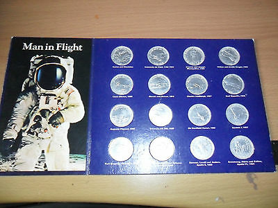 Commerative Coins / Medals In Flight