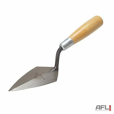 Marshalltown 455 Philadelphia Pattern Forged Pointing Trowel Wooden Handle 5""