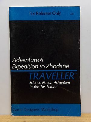 Traveller Adventure 6 (Expedition to Zhodane) Free Shipping GDW RPG