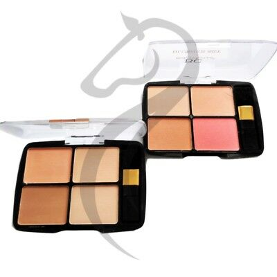 Body Collection Quad Blusher Palette Set Dusty Pink or English Rose