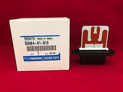 Genuine OEM Mazda 3 Blower Motor Resistor BBM4-61-B15 Free Shipping