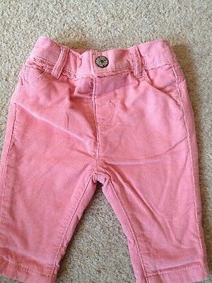 Baby Girl Next Cord Trousers 0-3 Months