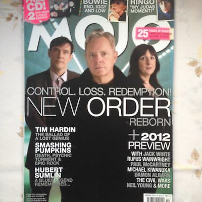 Mojo Magazine New Order Bowie (Low) Ringo Tim Hardin VG Cond Opened no CD