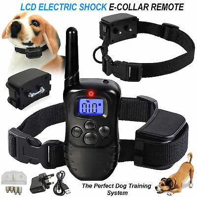 Waterproof Electric Trainer E-Collar Remote Pet Safe Dog Shock Collar Training