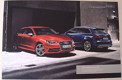 Audi . A3 . The Audi A3 and S3 . January 2016 Sales Brochure