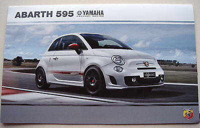 Fiat . 595 . Abarth 595 Yamaha . October 2015 Sales Leaflet