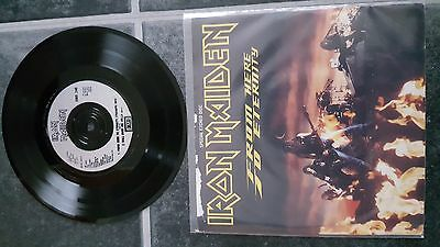 """Iron Maiden From Here To Eternity Special Etched 7"""" Vinyl"""