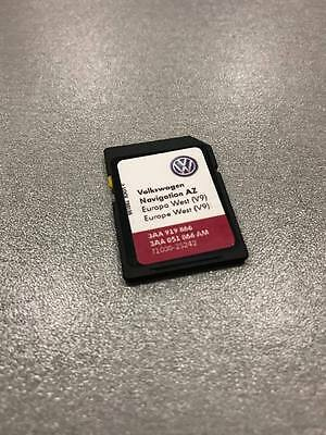 VW Škoda Seat RNS 315 SD Card Navigation V9 AZ Europe West 2017 Version! FRANCE