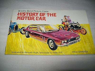 """Brooke Bond/PG Tips  Picture Cards  """"HISTORY OF THE MOTOR CAR"""""""