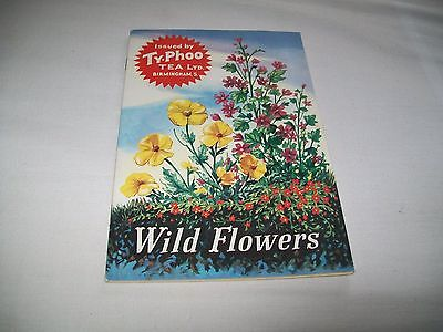 "Ty-Phoo Tea Picture Cards - ""WILD FLOWERS"""