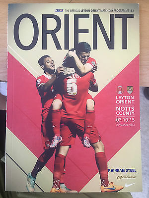 Leyton Orient Football programmes surprise assortment x 100