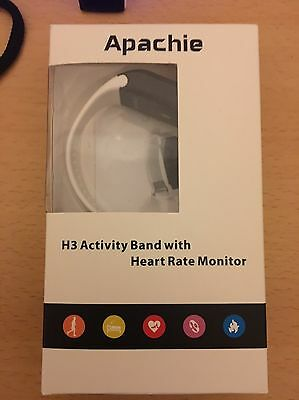 Apache H3 Activity Band & Heart Rate Monitor - Fitbit Alternative